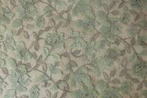 Tul bordado verde-plata-08