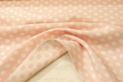 Jaquard topos rosa