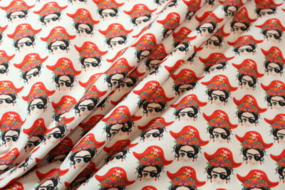 Estampado de algodón Frida
