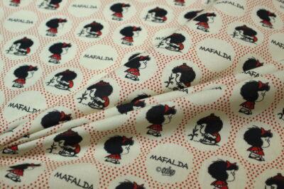 Algodón estampado Mafalda
