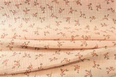 Bámbula estampada fondo rosa